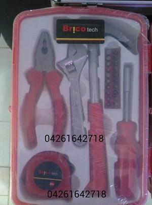 Kit De Herramientas Para El Hogar Brico Tech