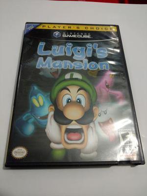 Luigis Mansion Juego De Nintendo Gamecube Para Colección
