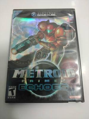 Metroid Prime 2 Echoes Juego De Nintendo Gamecube