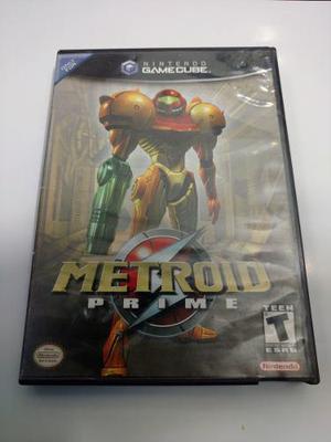 Metroid Prime Juego De Nintendo Gamecube Para Colección