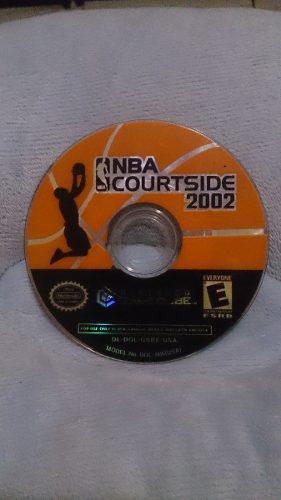 Oferta! Nba Courtside 2002 Gamecube Compatible Con Wii!