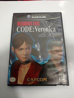 Re Code: Verónica X Juego De Nintendo Gamecube