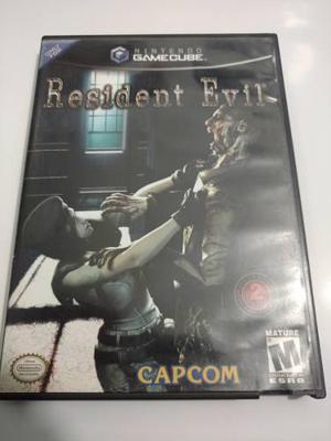 Resident Evil Juego De Nintendo Gamecube Para Colección