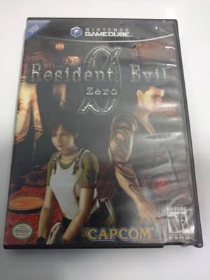 Resident Evil Zero Juego De Nintendo Gamecube Para