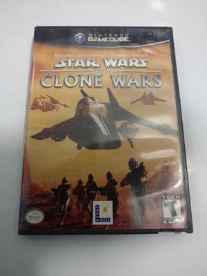 Star Wars The Clone Wars Juego De Nintendo Gamecube