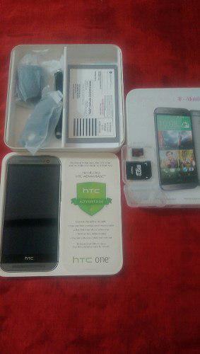 Telefono Htc One M8 + Memoria Micro Sd De 128 Gb.