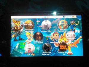 Vendo Psp Vita Original Sony, Con Varios Juegos