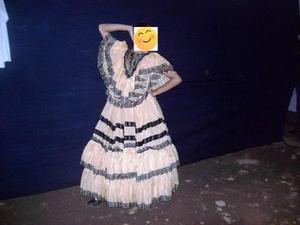 Vestido Danza Nacionalista