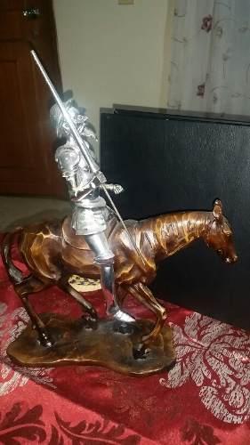 Caballo Con Don Quijote