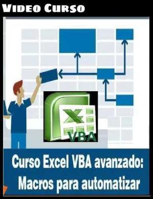 Curso Excel Vba Avanzado: Macros Para Automatizar
