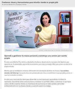Freelance Se Tu Propio Jefe  ! Curso Online