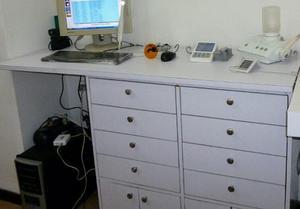 Mueble De Formica Con Gavetas 92alto X 90ancho X 50 Profund.