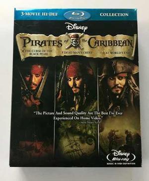 Piratas De Caribe Colección De Blu Ray 6 Discos