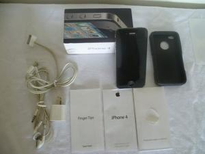 Smartphone Apple Iphone 4g 16gb Liberado + Mica + Vidrio Tem