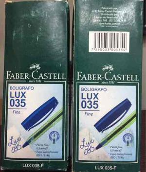 Bolígrafo Faber Castell Negro, Azul Y Rojo.