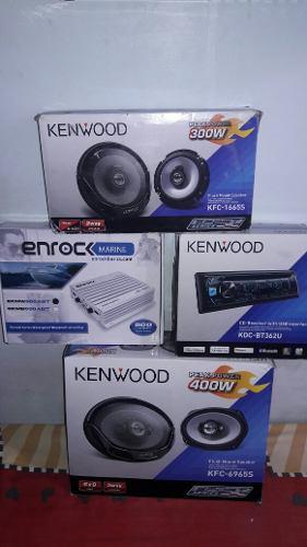 Combo De Audio Kenwood Para Carro