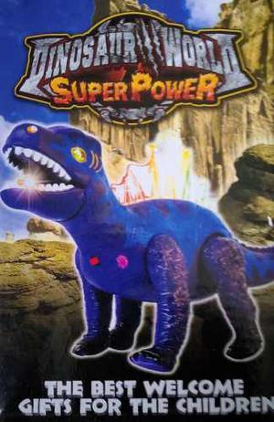 Dinosaurio Juguete Para Niños De Dinosaur World Super Power