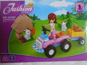 Lego Para Niñas Juego Armable Girls 86 Piezas Fashion