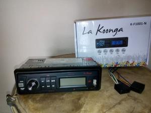 Radio Para Carros Reproductor La Koonga Mp3 Usb Sd