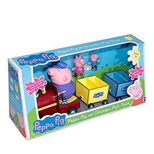 Tren De Peppa Pig Mas 3 Muñecos Juguete Niña Niño
