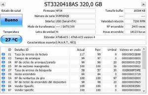 Disco Duro Sata 320 Gb Seagate, Hitachi, Wd
