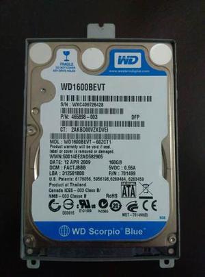 Disco Duro Wd 160gb Para Lapto