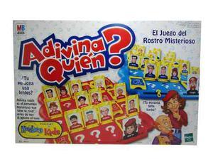Juego De Mesa, Adivina Quien?