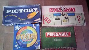Juegos De Mesa Monopolio Pictory Genios Pensable