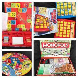 Juegos De Mesa Variados Adivina Quien Monopolio Pictionary