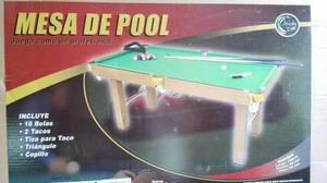 Mesa De Pool Jeidy Toys