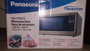 Microondas Panasonic Inverter Acero Inoxidable 1.2 Cf 1200 W