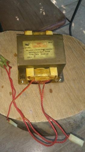Transformador De Alto Voltaje Para Microondas Lg