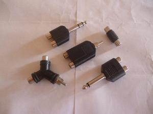 Adaptador / Convertidor Audio (Kit - 5 Convertidores)