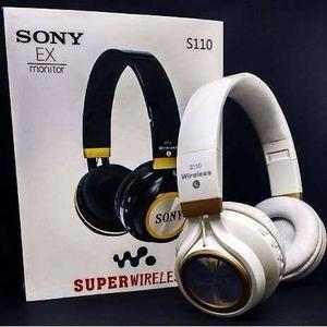 Audifono Sony S110 Micro Sd Mp3 Bluetooth Super Wireless