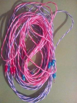 Cable De Audio De Punta Punta De 3 Metros