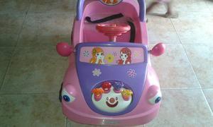 Carro De Bateria Para Niña