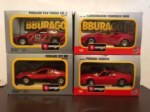 Combo Carros De Colección Burago