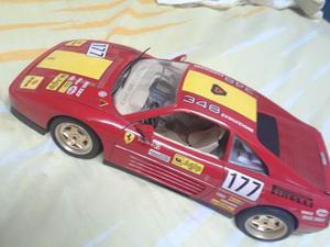 Ferrari 348ts Escala 1/18 Marca Burago