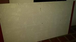 Laminas Perforadas Mdf Para Exibicion De Tiendas 1.22 X 2.14