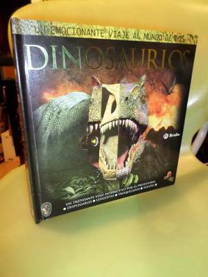 Libro Grande Viaje Al Mundo De Los Dinosaurios Con Relieve