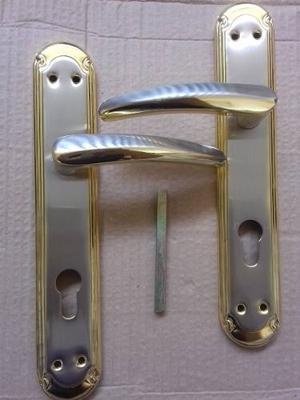 Manillas De Lujo Para Puerta Principal 10x2 Acero Inox