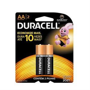 Pila Aa Duracell Larga Duracion Paquete De 2 Baterias