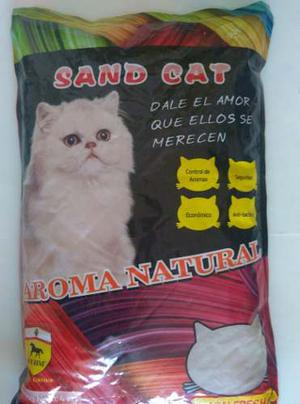 Arena Para Gato Sand Cat 4 Kg Lemon Fresh