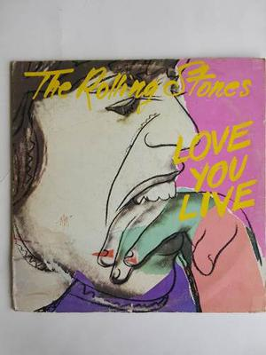 Disco Doble 2 Lp Vinyl The Rolling Stones Love You Live