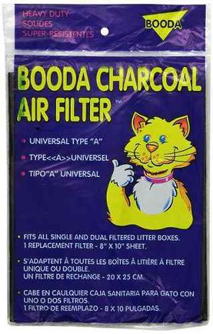 Filtro Universal De Carbón Para Areneros Medidas 25 X 20 Cm