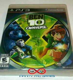 Juego Ben 10 Omniverse Para Ps3 Original Garantia