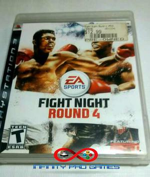 Juego Fisico Fight Night Round 4 Original Para Ps3 Garantia