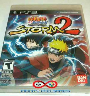 Juego Fisico Naruto Shippuden Storm 2 Para Ps3