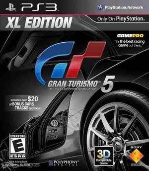 Juego Gran Turismo 5 Xl Edition Original Para Ps3