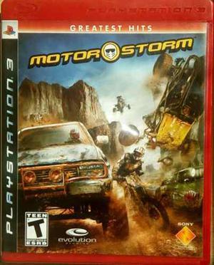 Juego Para Ps3 Motor Storm. Perfectas Condiciones